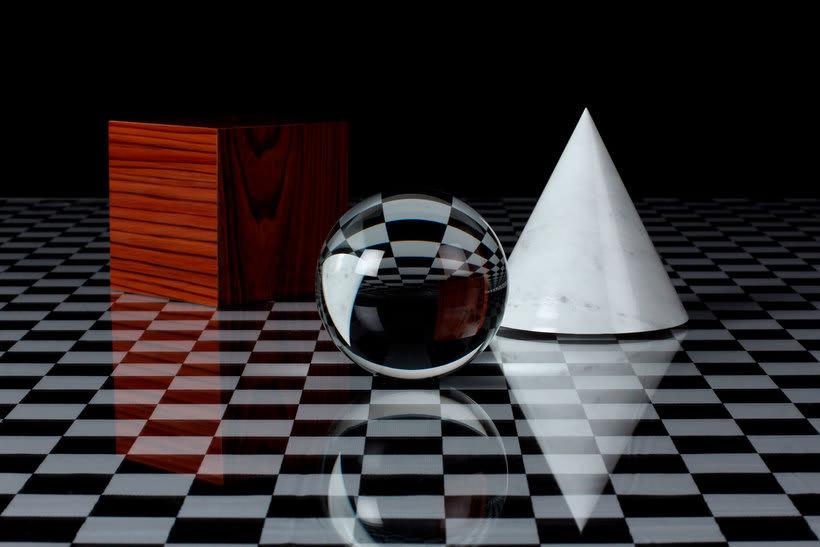 Cuando la fotografía imita el diseño en 3D 1