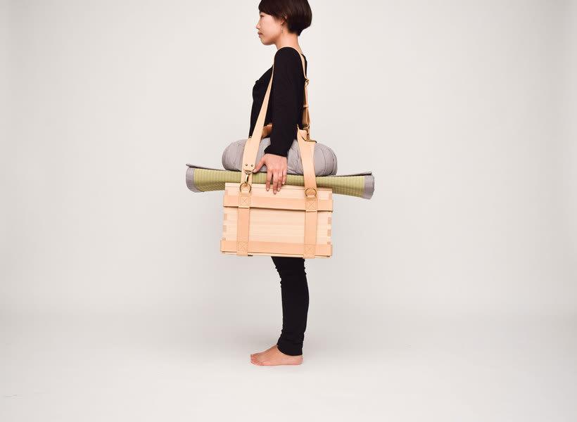 Mobiliario para la vida nómada, de Gerardo Osio 1