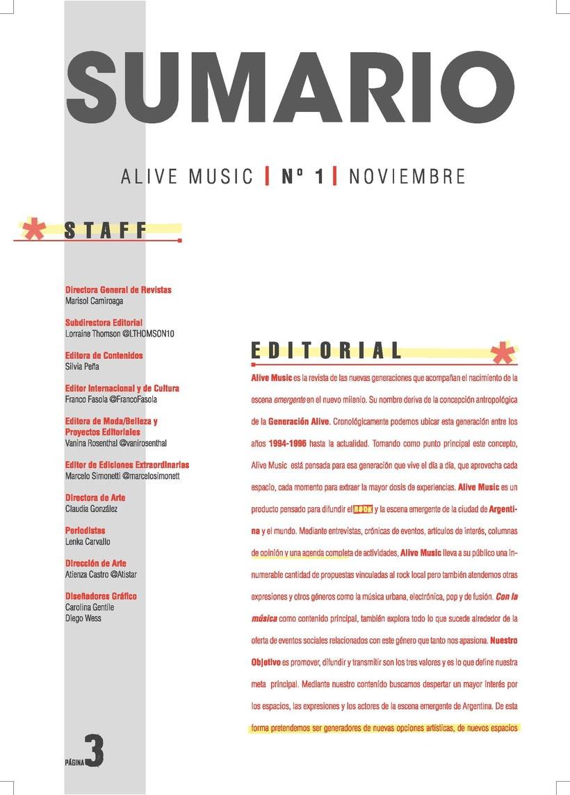 Revista Matices Crdoba Proyecto Editorial