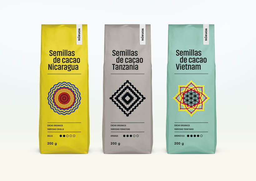 Packaging Cacao Nómada 1