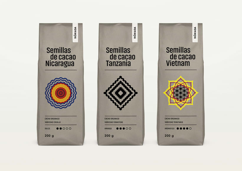 Packaging Cacao Nómada 3