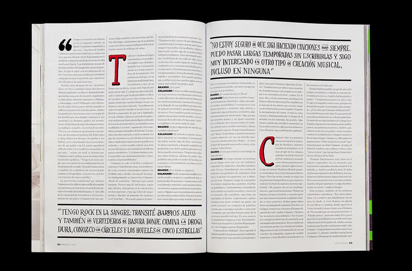 BRANDO Mag – Lettering de Portada y Nota Principal 8