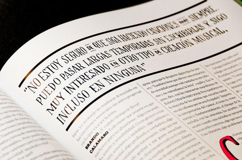 BRANDO Mag – Lettering de Portada y Nota Principal 11
