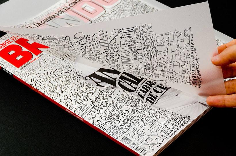 BRANDO Mag – Lettering de Portada y Nota Principal 13