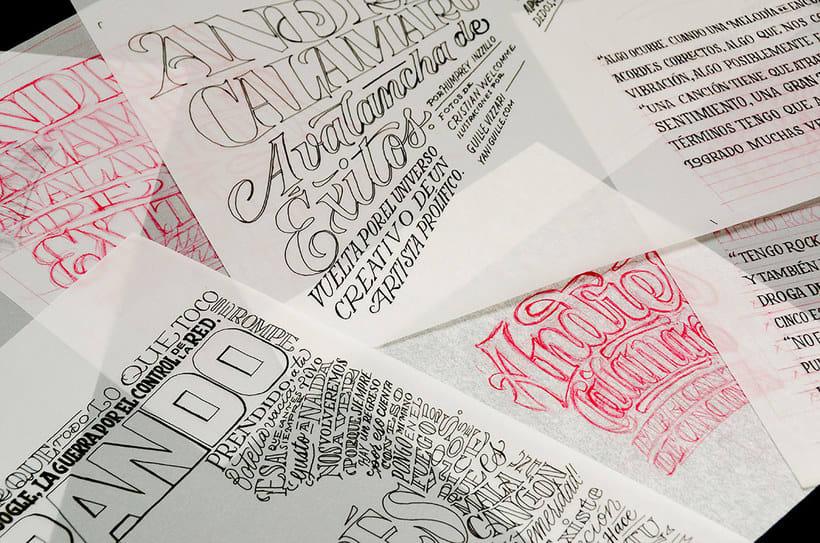 BRANDO Mag – Lettering de Portada y Nota Principal 14