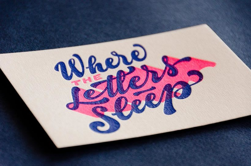 Yani & Guille – Letterpress Postcards 3