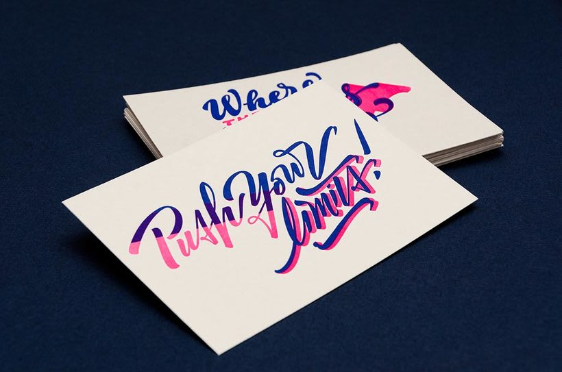 Yani & Guille – Letterpress Postcards 4