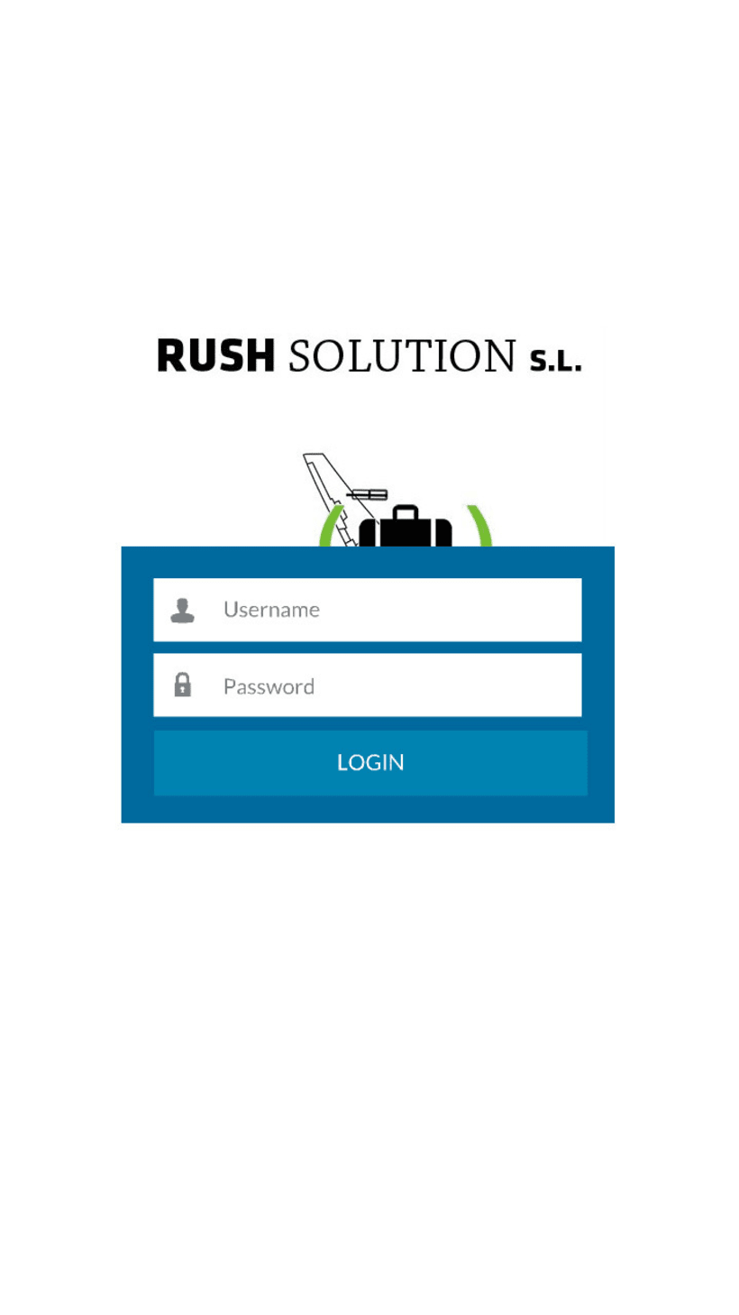 Rush Solution Aministrator,App para empresa de reparto, Android, PC e IOS 1