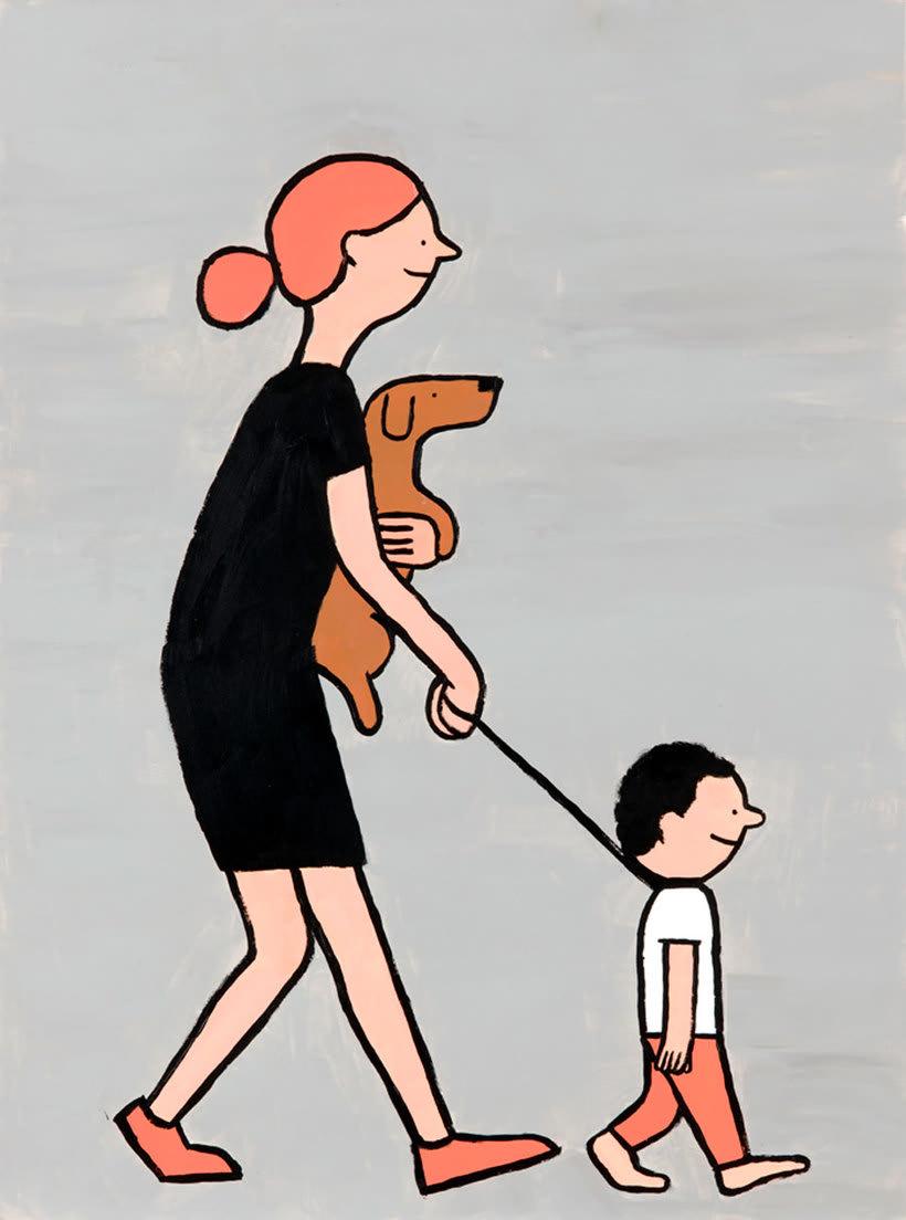 Jean Jullien, el ilustrador de la sociedad moderna 8
