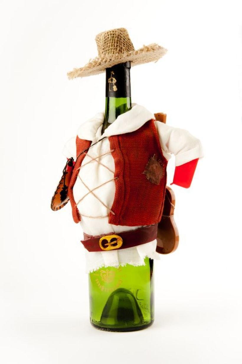 Rediseño Botella Tio Pepe, Bodegas González Byass -1