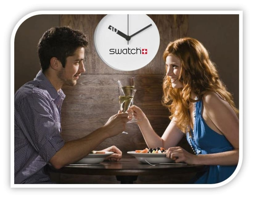 "CAMPAÑA SWATCH. SLOGAN ""TIME TO LOVE, TIME TO SWATCH"" 8"