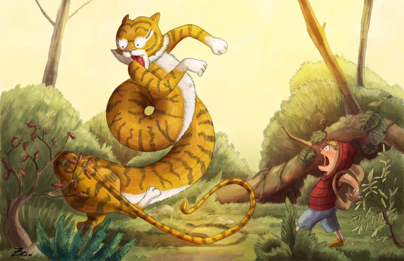 Un Tigre Muy Largo 7