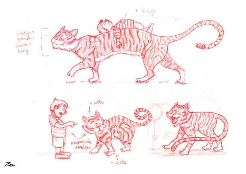 Un Tigre Muy Largo 18