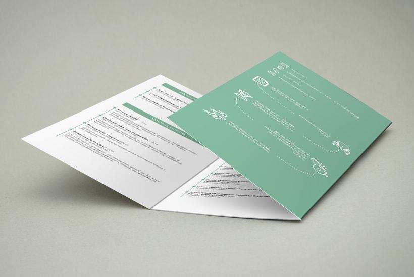 Diseño y maquetación de un currículum para una Trabajadora Social. 4