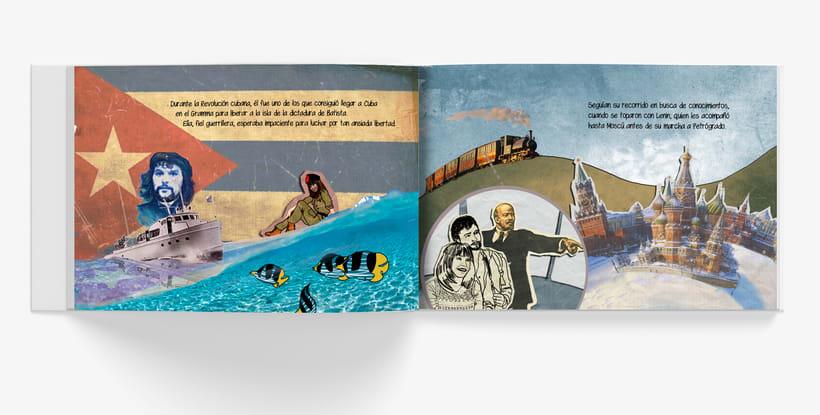 Libro ilustrado para regalo de boda. <<Historia de dos historias>> 2