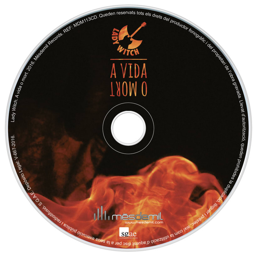 CD A vida o mort - Lady Witch 1