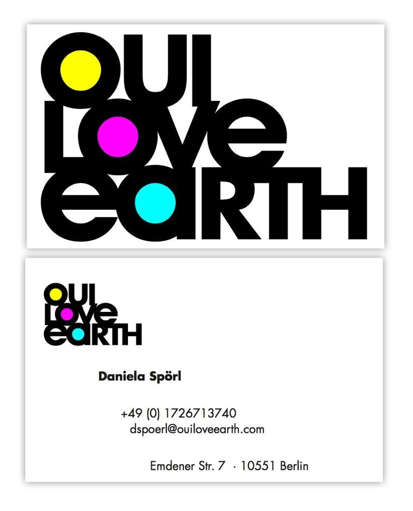 Tarjeta - Oui Love Earth -1
