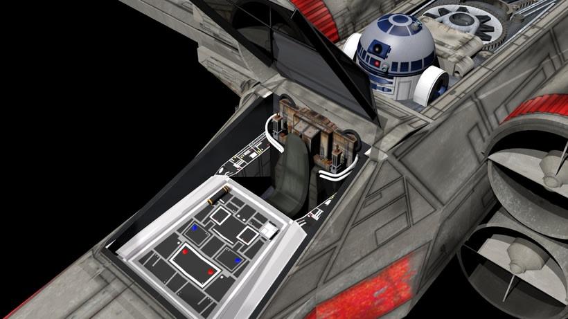 Modelado 3D  //  X-Wing -1