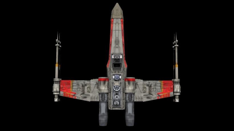 Modelado 3D  //  X-Wing 0