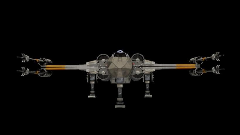 Modelado 3D  //  X-Wing 1
