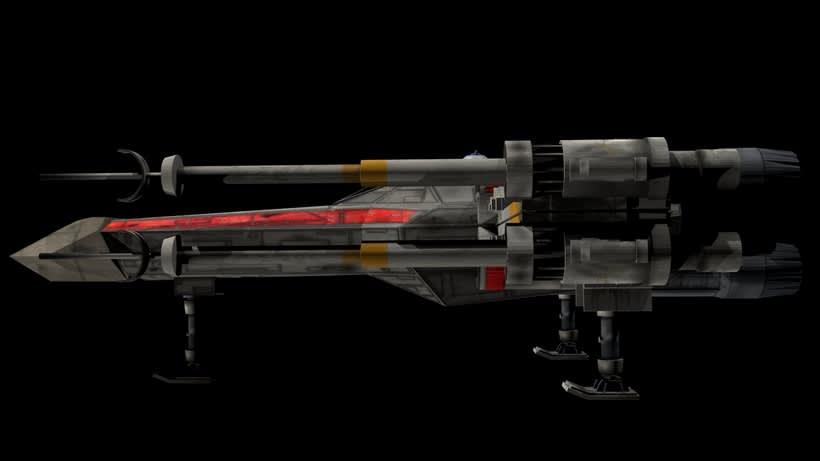 Modelado 3D  //  X-Wing 2