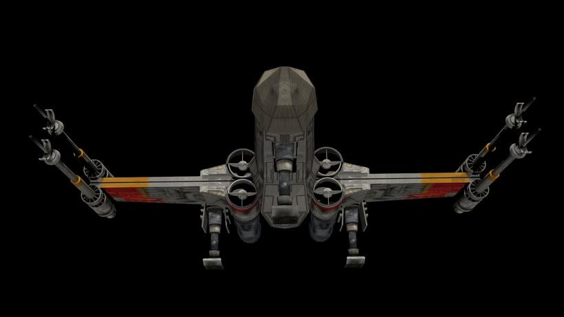 Modelado 3D  //  X-Wing 5