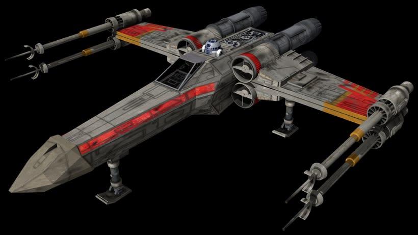 Modelado 3D  //  X-Wing 6