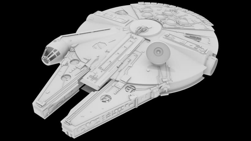 Modelado 3D // Halcón Milenario [EN PROCESO] 1