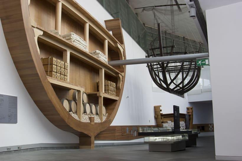 Expociencia, S.L. Coordinación de contenidos y montaje de piezas de La Fragata Mercedes ARQUA. 2013 -1