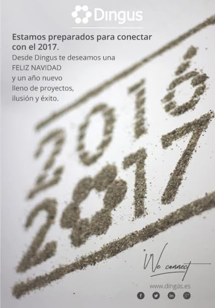 Felicitación de Navidad para Dingus -1
