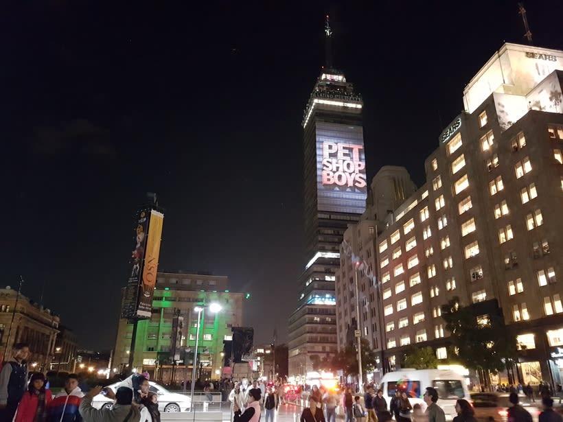 Vídeo mapping billboard Corona Capital 2016 - Torre Latino CDMX 3