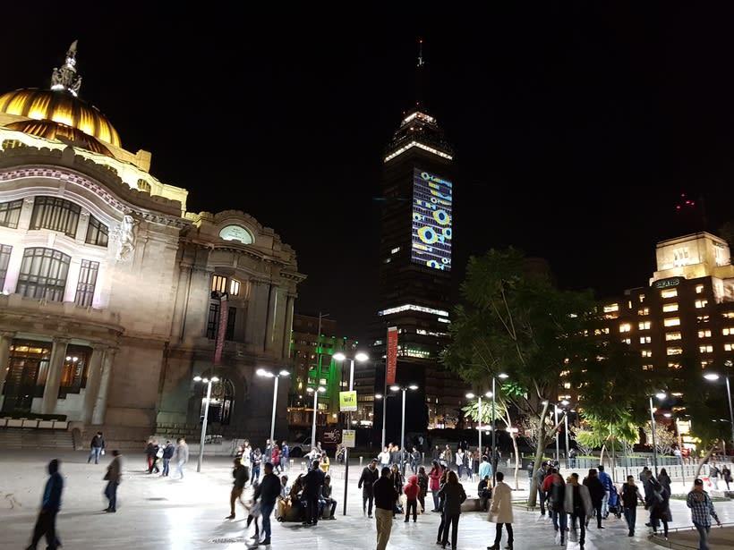 Vídeo mapping billboard Corona Capital 2016 - Torre Latino CDMX 7
