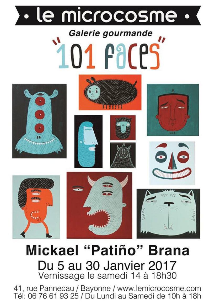 """101 Faces"" 2"