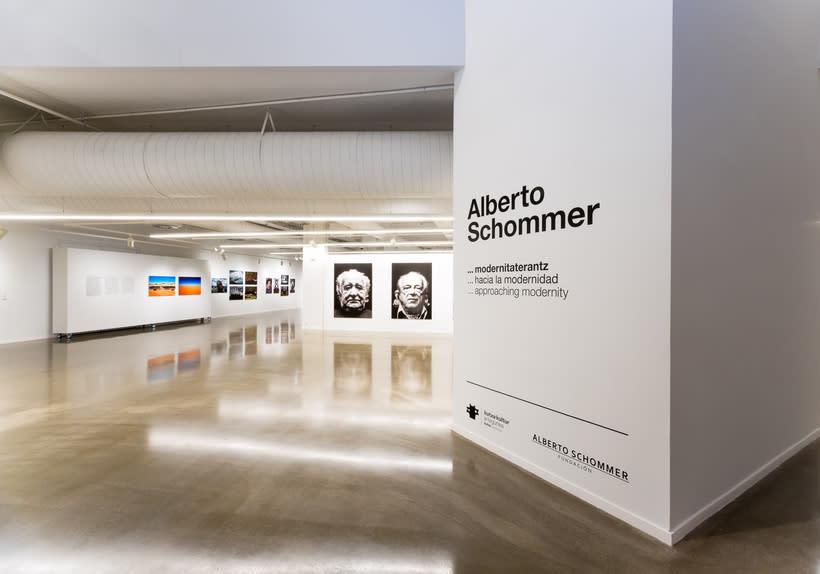 """Exposición """"Alberto Schommer ...hacia la modernidad"""" 1"""