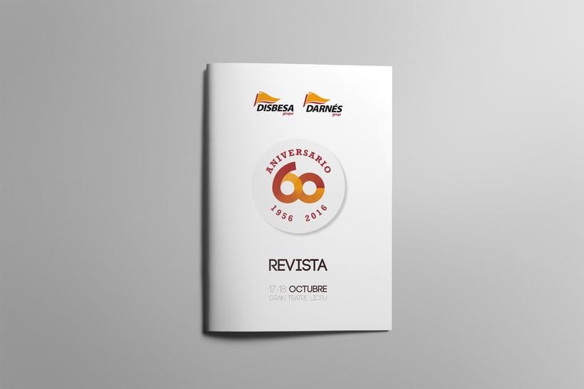 REVISTA 60 ANIVERSARIO DISBESA 0