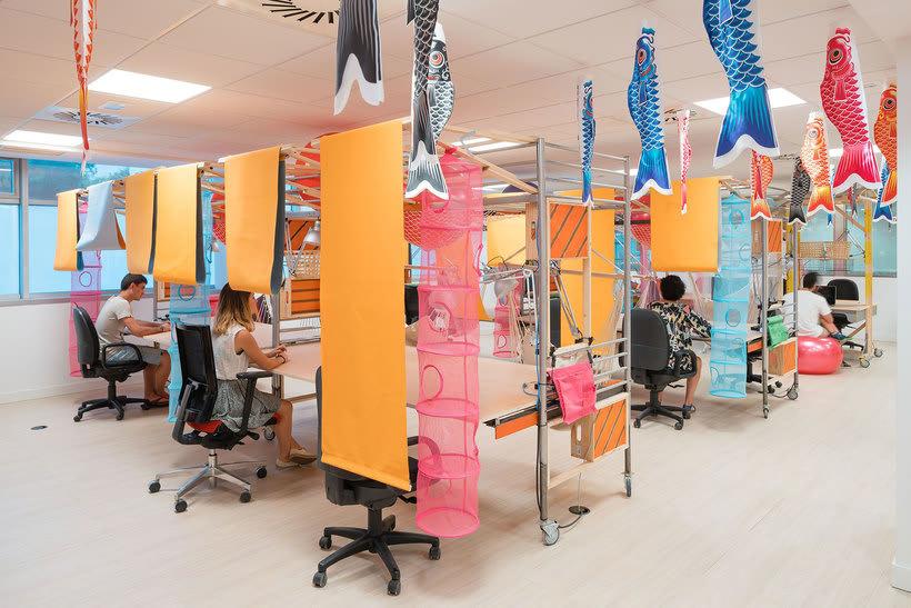 Izaskun Chinchilla diseña un coworking con 'Ikea Hacks' 3