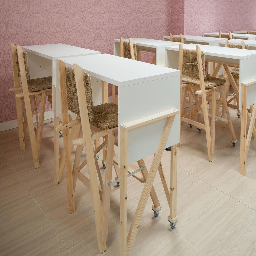 Izaskun Chinchilla diseña un coworking con 'Ikea Hacks' 6