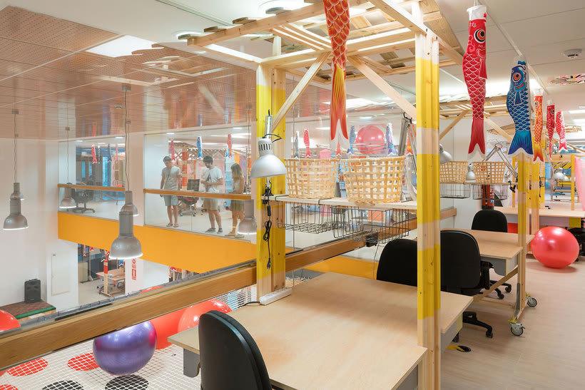 Izaskun Chinchilla diseña un coworking con 'Ikea Hacks' 8