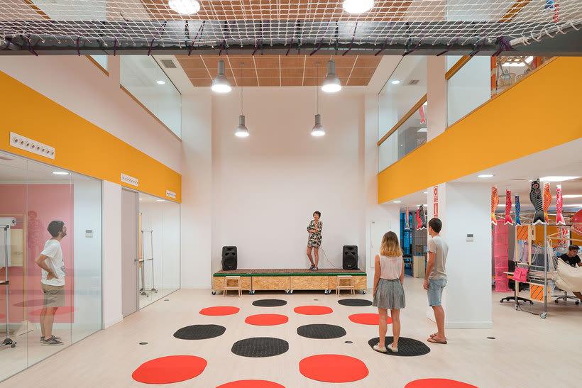 Izaskun Chinchilla diseña un coworking con 'Ikea Hacks' 11