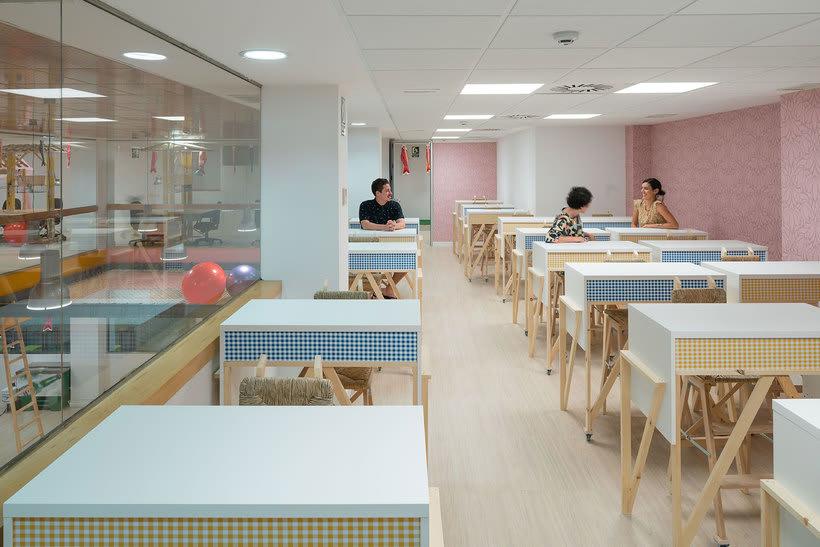 Izaskun Chinchilla diseña un coworking con 'Ikea Hacks' 12