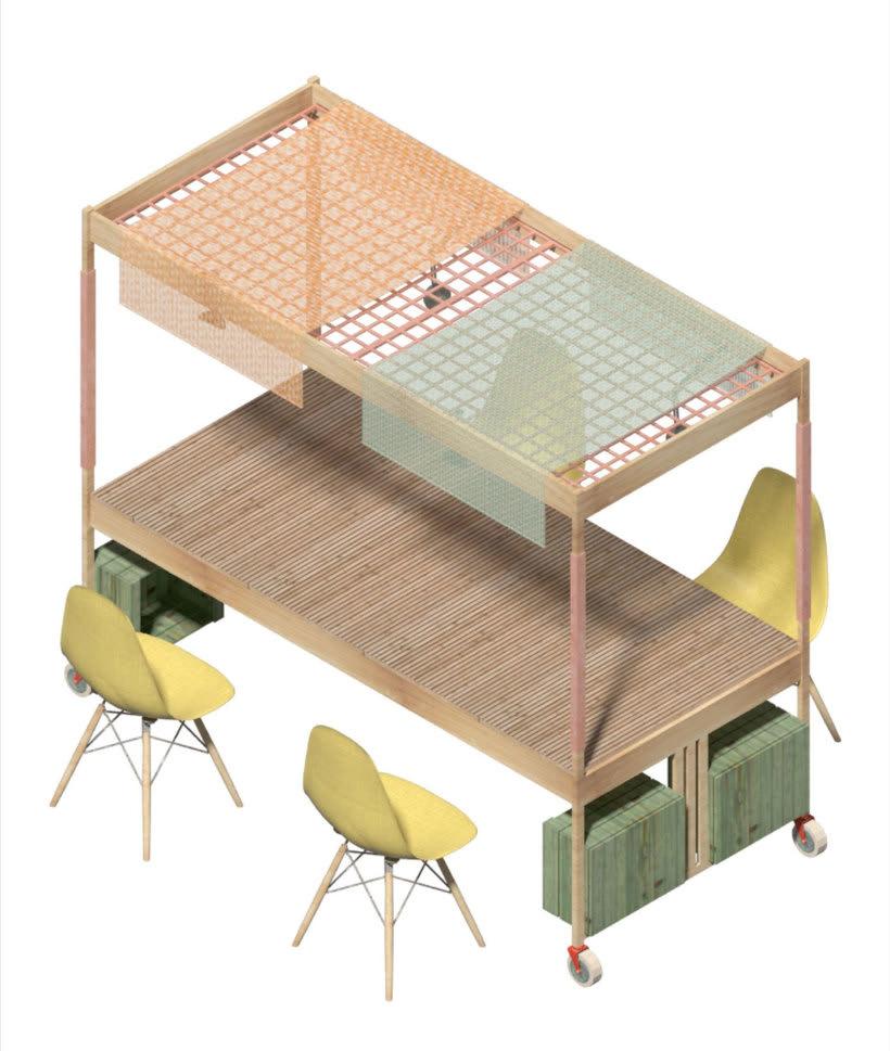 Izaskun Chinchilla diseña un coworking con 'Ikea Hacks' 13