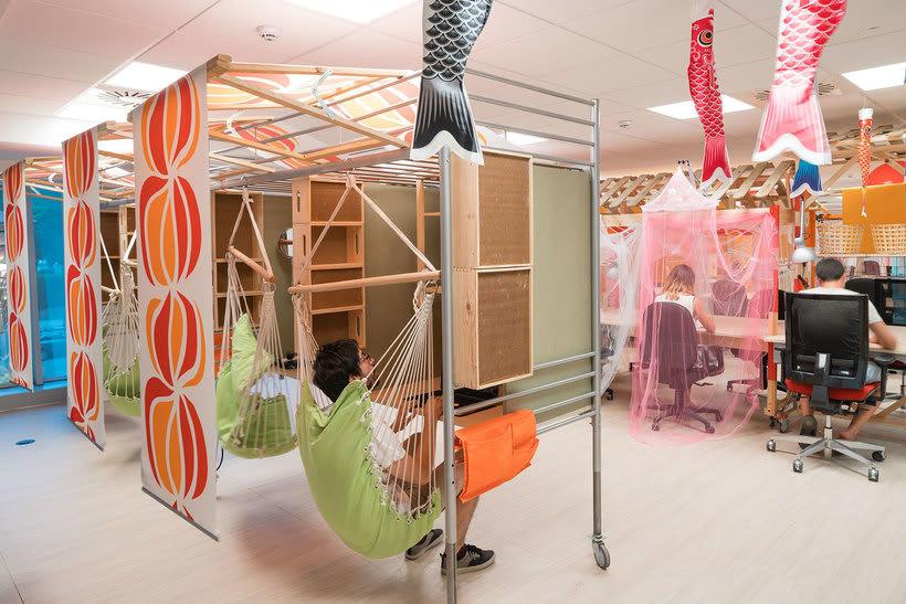 Izaskun Chinchilla diseña un coworking con 'Ikea Hacks' 17