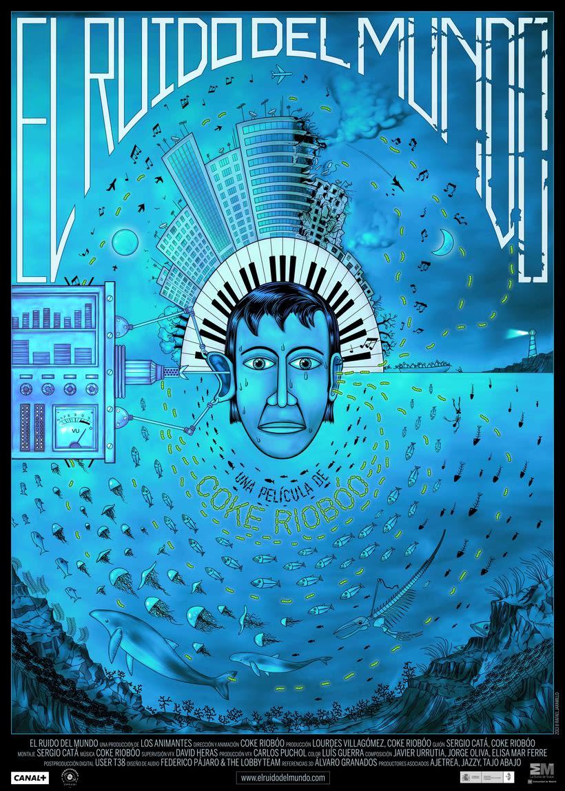 El Ruido del Mundo, cortometraje animado con plastilina sobre cristal. -1