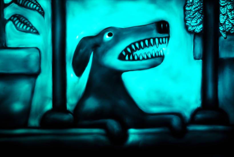 El Ruido del Mundo, cortometraje animado con plastilina sobre cristal. 2