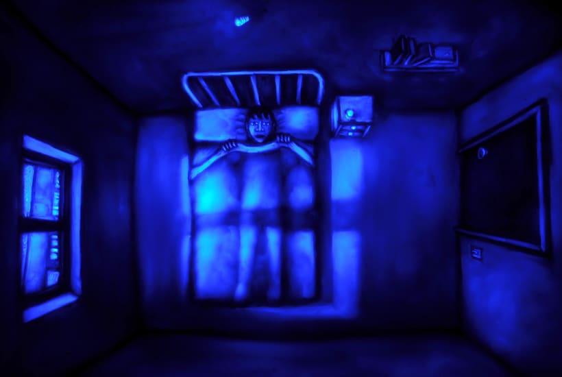 El Ruido del Mundo, cortometraje animado con plastilina sobre cristal. 3