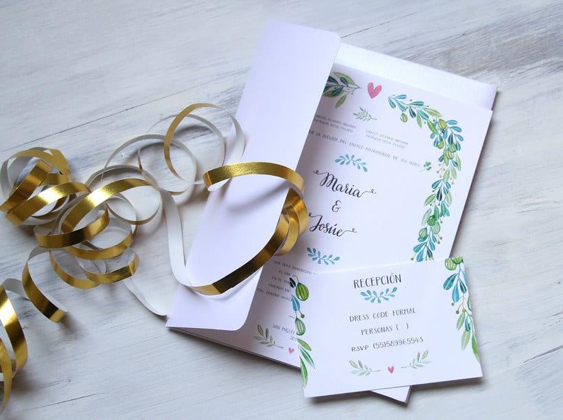 Invitaciones para bodas 2