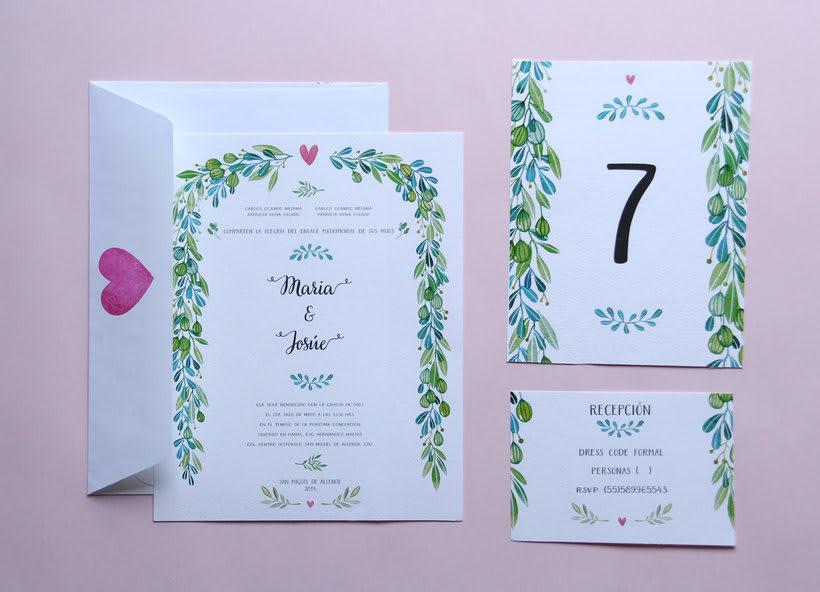 Invitaciones para bodas 3