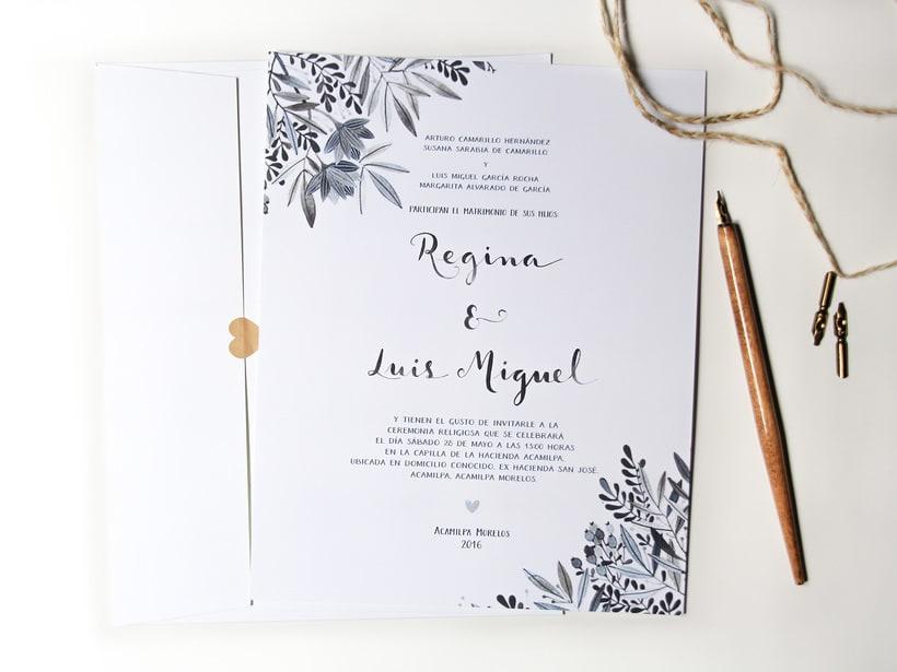 Invitaciones para bodas 9
