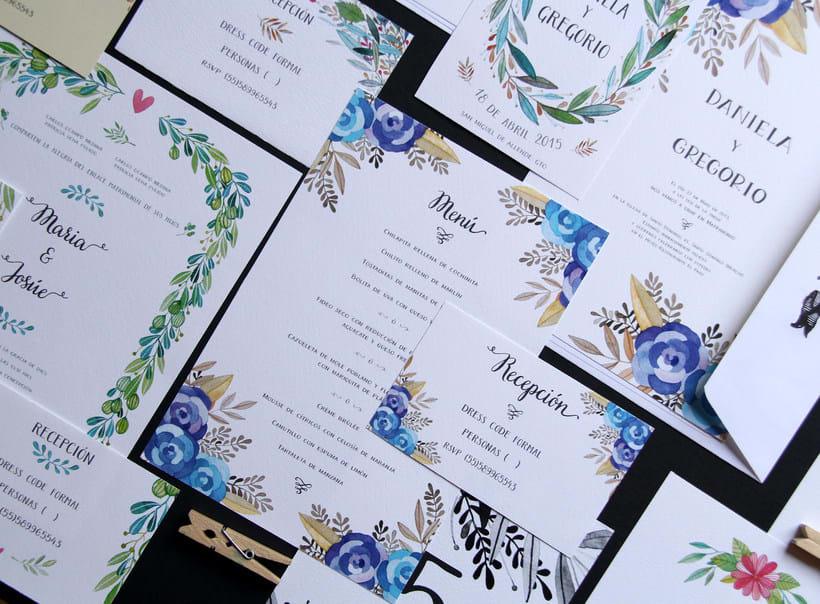 Invitaciones para bodas 1