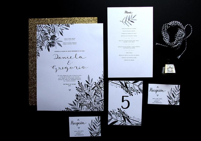 Invitaciones para bodas 6